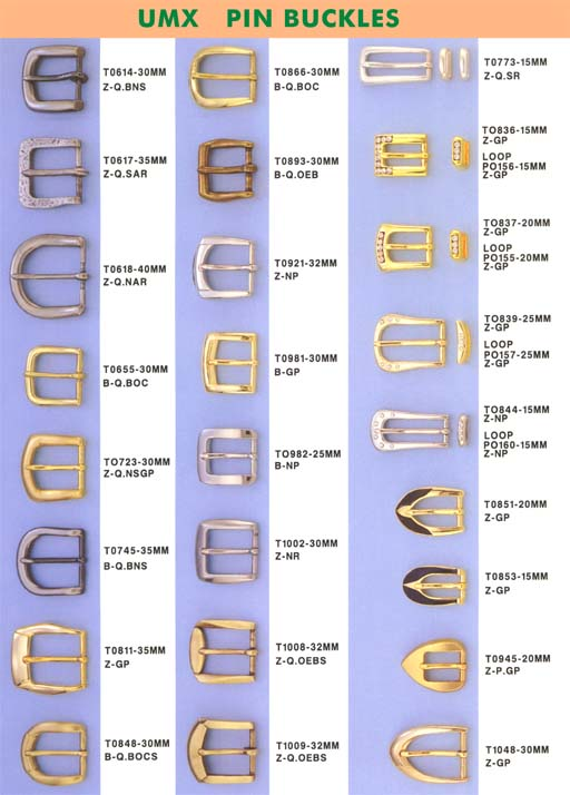 pin buckles series T0614