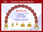 Beaded Purse Handles HH-p4xx-185 For Evening Purses