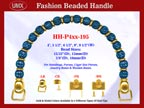 Designer Purse Handles HH-p4xx-195 For Beaded Designer Purses