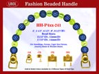 Beaded Purse Handles HH-P4xx-241 For Wedding Purse
