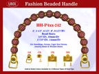 Beaded Purse Handles HH-P4xx-242 For Lady Purses