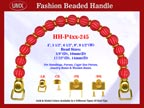 Designer Purse Handles HH-P4xx-245 For Beaded Designer Handbags