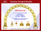Designer Purse Handle HH-P4xx-249 For Beaded Designer Handbags