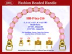 Designer Purse Handle HH-P4xx-250 For Beaded Designer Handbags