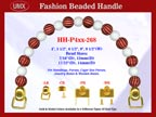 Designer Purse Handle HH-P4xx-268 For Beaded Designer Handbag