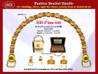 Wholesale Handbags Handles HH-Pxx-440 With Beaded Crafts, Crafted Beads and Flower Beads