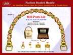 Wholesale Handbag Handle HH-Pxx-450 With Art Crafted Bali Beads, Symbolic Bali Beads