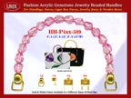 Wholesale Womens Hand Made Purse Handle: HH-Pxx-509: Womens Hand Made Purses Making Hardware Supply